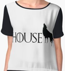 Game of Thrones - Stark Women's Chiffon Top