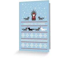Christmas Is Coming Santa Edition  Greeting Card