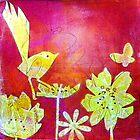 "Yellow Bird by Belinda ""BillyLee"" NYE (Printmaker)"