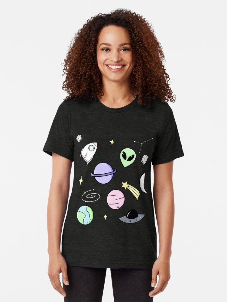 Alternative Ansicht von Raumästhetik (schwarz) Vintage T-Shirt