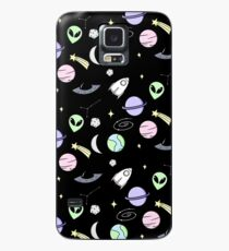 Space Aesthetic (Black) Case/Skin for Samsung Galaxy