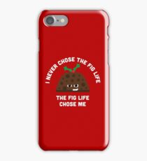 Christmas Character Building - Fig life iPhone Case/Skin