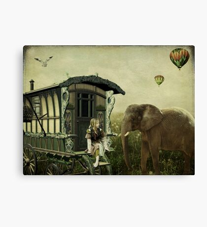 The Child Within My Heart... Canvas Print
