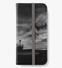 gorch fock, black and white iPhone Wallet/Case/Skin
