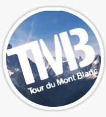 Tour du mont blanc Sticker
