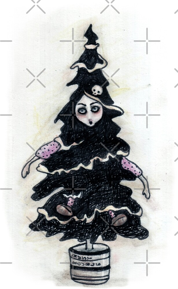 Black Xmas Tree by ROUBLE RUST