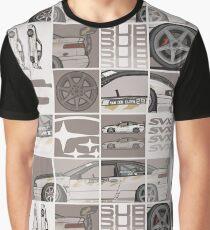 Chris Van Den Elzen's Subaru SVX Drift Car Graphic T-Shirt