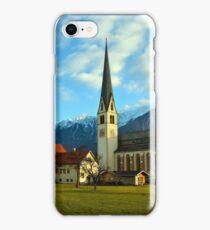 Church in Untermieming, Tirol, Austria iPhone Case/Skin