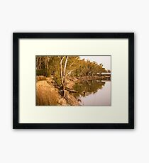 Murray River - Cobram Framed Print