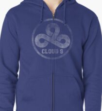 Vintage Team Cloud 9  Zipped Hoodie