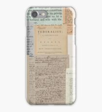 Alexander Hamilton Papers Collection iPhone Case/Skin