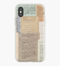 Alexander Hamilton Papers Collection iPhone Case