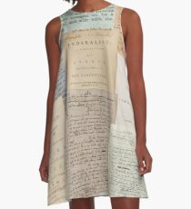 Alexander Hamilton Papers Collection A-Line Dress