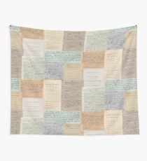 Alexander Hamilton Papers Collection Wall Tapestry
