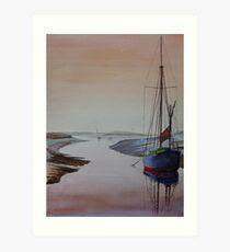 Resting Place - Blakeney, Norfolk Art Print