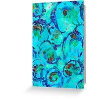 Zooplankton #1 Greeting Card