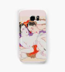 Shunga Japanese Erotic Hot Sex Woman Girl Man Oriental Samsung Galaxy Case/Skin