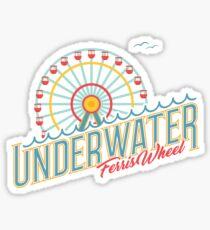Underwater Ferris Wheel — 'Umbrella Beach' by Owl City Sticker