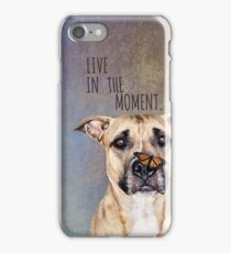 Live in the Moment iPhone Case/Skin