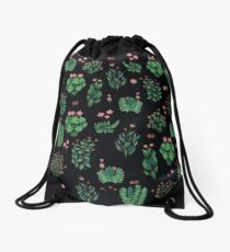 green garden Drawstring Bag