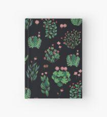 green garden Hardcover Journal
