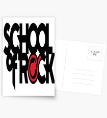design art cartoon naruto music school of rock Postcards