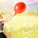 Red Balloon by Alexandra Ekdahl