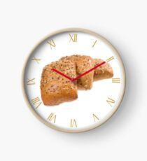 Fresh baked graham rolls Clock