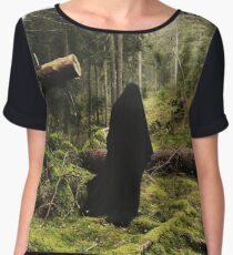 Forest Spectre Chiffon Top