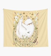 Butterflies and Bees Wall Tapestry