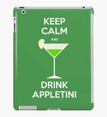 Keep Calm and Drink Appletini iPad Case/Skin