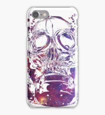 Gas Mask Galaxy iPhone Case/Skin