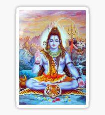 Lord Shiva Hindu Indian Art  Sticker