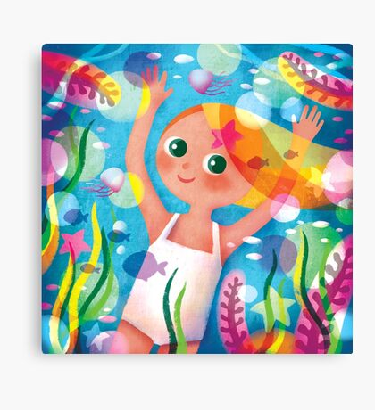 Hello Summer! Canvas Print