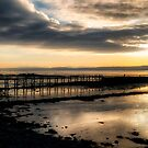 The Old Pier in Culross, Scotland by Jeremy Lavender Photography
