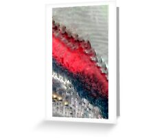 Study of Color - contrast Greeting Card