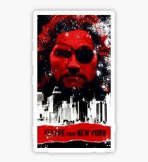 Escape from New York Sticker