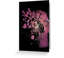 Galactic Skull 1 Greeting Card