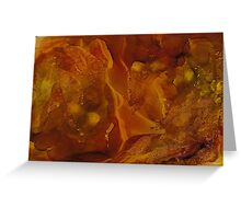 Olinguito | Alcohol Ink Abstract Greeting Card