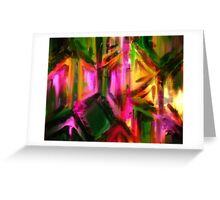 Doors of Opportunity - Abstract Greeting Card
