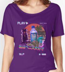 Vaporwave Fiji Bottle Women's Relaxed Fit T-Shirt