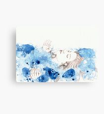 My Ophelia - Meditation on Water Canvas Print