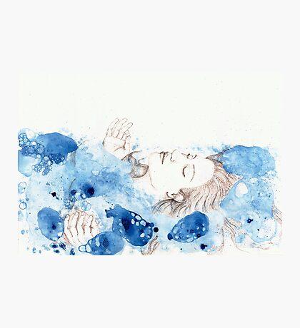 My Ophelia - Meditation on Water Photographic Print