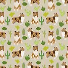 rough collie cactus design by PetFriendly