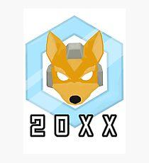 Fox 20XX Melee Shine Photographic Print