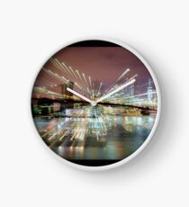Warp City 7 Clock