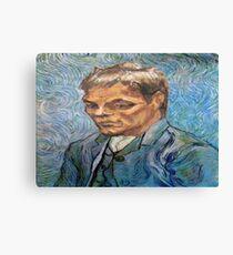 Tom Brady Van Gogh Canvas Print