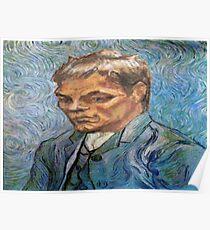 Tom Brady Van Gogh Poster