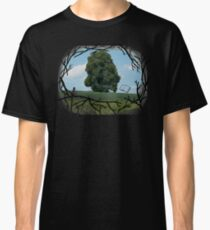"""Read The World Away"" [Transparent Fade] Classic T-Shirt"