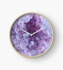 Crystal Gemstone Clock